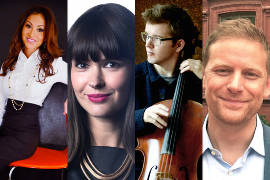 TEDx speakers confirmed this year (L-R): Jessica O'Reilly, Jennifer Gardy, Peter Gregson, Charles Montgomery.