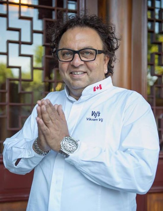 Vancouver restauranteur Vikram Vij will serve up some of his signature dishes at Dragon in the Garden.