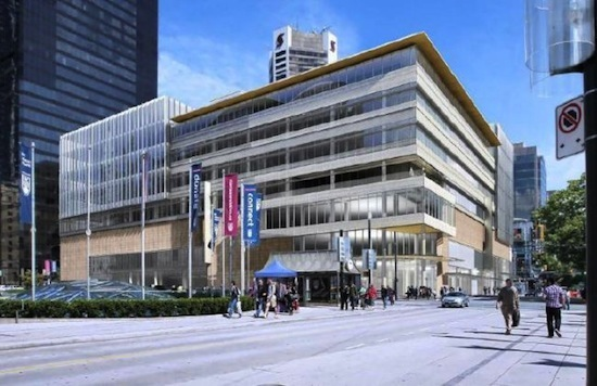Preliminary plans for Nordstrom in Vancouver.