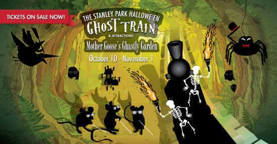 Ghost Train in Stanley Park | Things To Do In Vancouver This Weekend