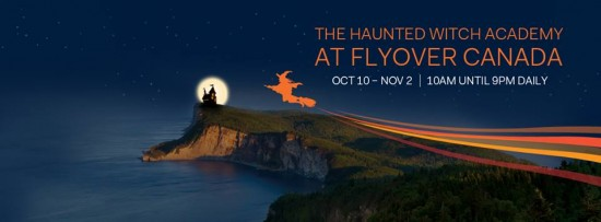 Halloween at FlyOver Canada | Things To Do In Vancouver This Weekend