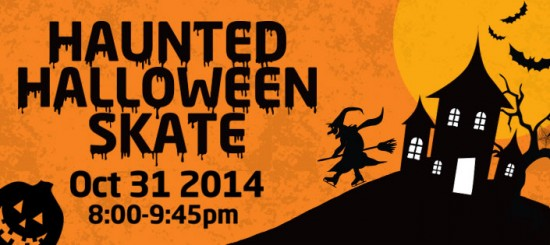 Haunted Halloween Skate at Richmond Olympic Oval | Things To Do In Vancouver This Weekend