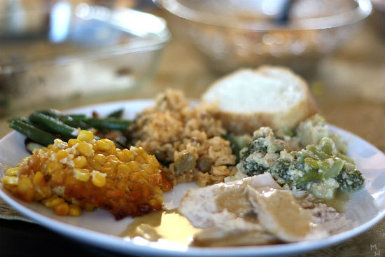 Thanksgiving dinner | Marcus Quigmire, Wikimedia Commons photo.