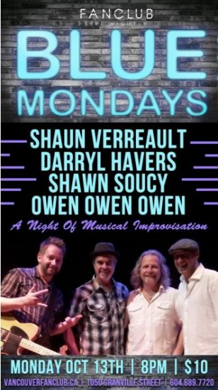 Blue Mondays| Things To Do In Vancouver This Weekend