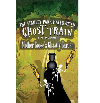 Stanley Park Halloween Ghost Train | Things To Do In Vancouver This Weekend