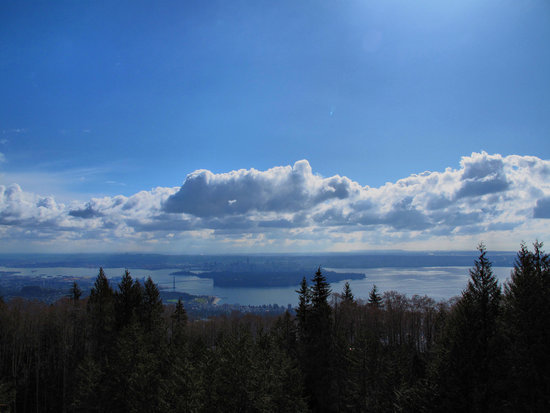 A view from Cypress Mountain Lookout || Photo Credit: Flickr/KeepitSurreal or Kyle Pearce.