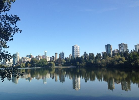 Best place to pause and reflect: Lost Lagoon. || Photo Credit: Miranda Post