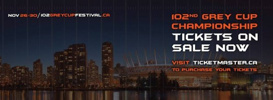 102nd Grey Cup Festival   Things To Do In Vancouver This Weekend