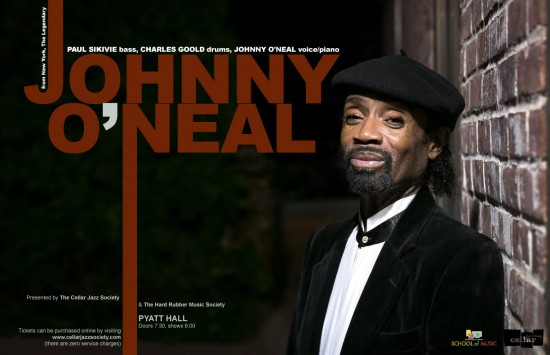 Cellar Jazz Society - The Johnny O'Neal Trio   Things To Do In Vancouver This Weekend
