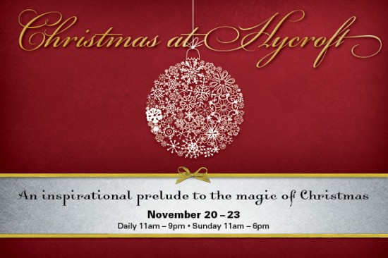 Christmas at Hycroft | Things To Do In Vancouver This Weekend