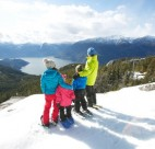 Snowshoeing is coming soon to the top of the Sea To Sky Gondola. Photo credit: Sea To Sky Gondola/Paul Bride.