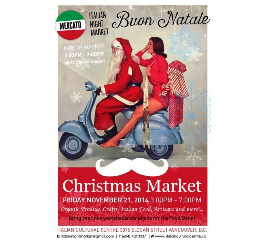 Il Mercato - Italian Night Market Xmas | Things To Do In Vancouver This Weekend