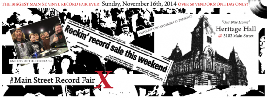 Main Street Vinyl Record Fair | Things To Do In Vancouver This Weekend
