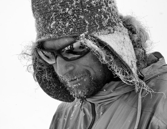 Ptor Spricenieks, skiier and filmmaker, will be at this year's Vancouver International Mountain Film Festival.