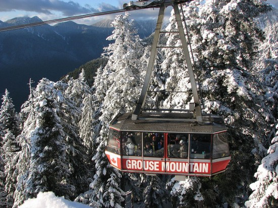 Grouse Mountain opening 2014