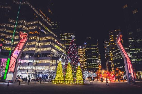 Vancouver Tree Lighting Ceremony