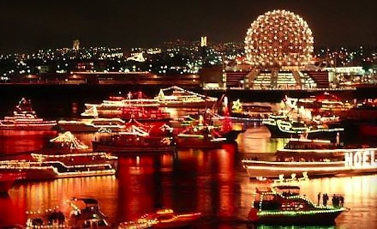 Vancouver S Floating Christmas Parade Is Back Carol Ships