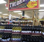 Wine sold at a Trader Joe