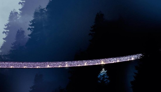 Canyon Lights at Capilano Suspension Bridge | Things To Do In Vancouver This Weekend