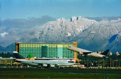 Photo credit: Fairmont Vancouver Airport Hotel