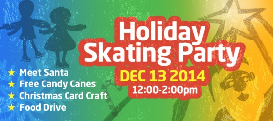 Richmond Olympic Oval Holiday Skating Party | Things To Do In Vancouver This Weekend