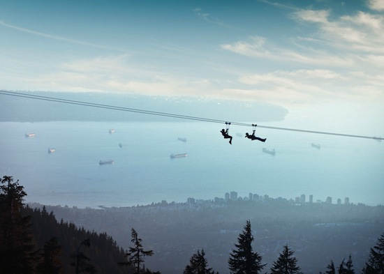 Photo from Grouse Mountain