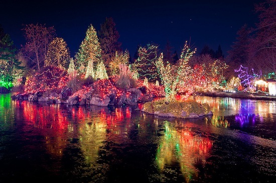 Festival of Lights at VanDusen Botanical Garden. Photo credit: janheuninck | Flickr