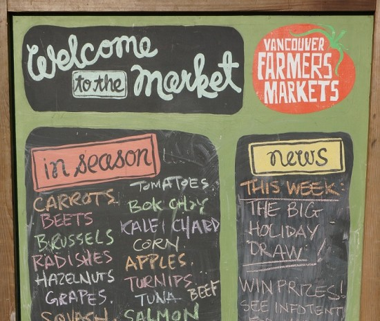 Vancouver Farmers Market   Things To Do In Vancouver This Weekend