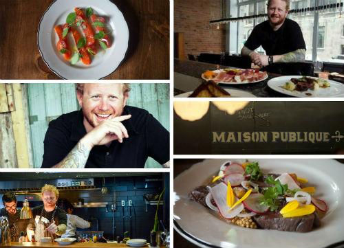 Quebec chef Derek Dammann | Photo from Edible Canada website