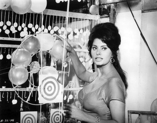 Sophia Loren in Boccaccio 70.