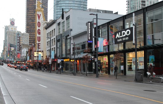 vancouver history granville street