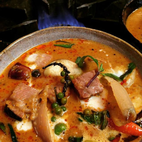 Panang curry | Photo credit Longtail Kitchen on Facebook