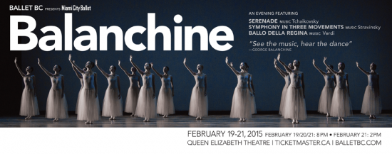 Ballet BC - Miami City Baller's Balanchine | Things To Do In Vancouver This Weekend