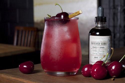 Bittered Sling cocktail | Photo credit: James Stockhorst