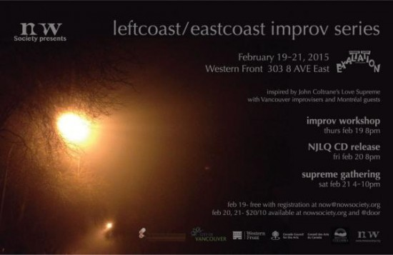 Leftcoast/Eastcoast Improv Series | Things To Do In Vancouver This Weekend