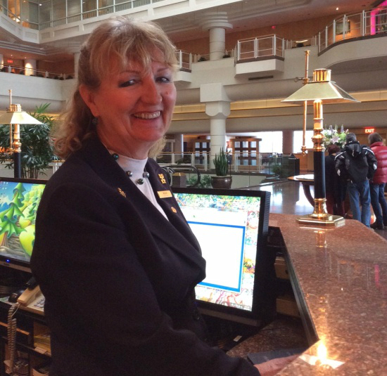 Miriam Edwards, Chef Concierge at the Pan Pacific Vancouver