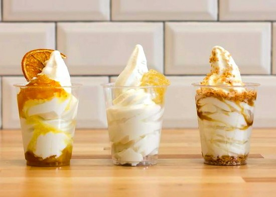 Soft peaks organic soft serve causes gastown sensation inside although its making a comeback in asia new york and la soft serve ice cream in canada has always had a bad rep of being an over sugared blend of cream ccuart Choice Image