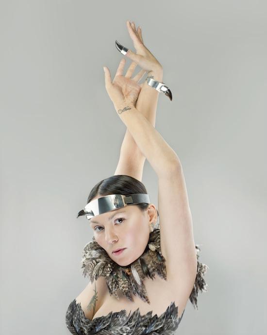 Throat singer Tanya Tagaq