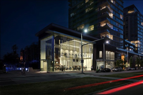 A rendering of the Arts Club's new West First Stage