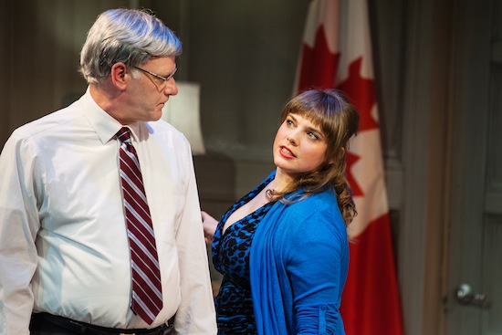 Andrew Wheeler and Emmelia Gordon in Proud. Pink Monkey Studios photo.