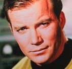 William Shatner as Captain James T. Kirk in the original Star Trek.