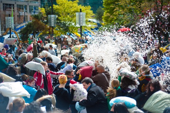 Pillow Fight Day Vancouver 2015