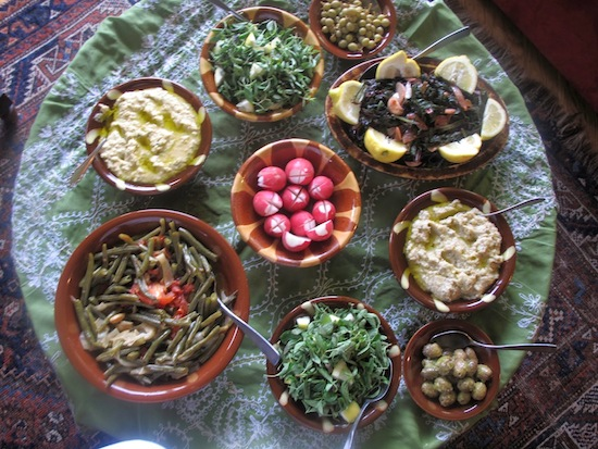 The menu of Feasting in a Lebanese Forest