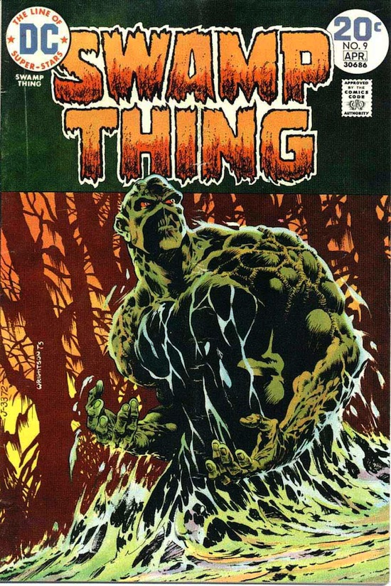 A classic cover by comics artist Bernie Wrightson for DC Comics.