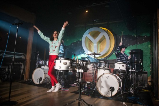 French pop band Yelle, pictured at Fortune Sound Club, Vancouver, Oct. 25 2014, is one of the acts coming to the 2015 Seasons Festival. Kirk Chantraine photo.