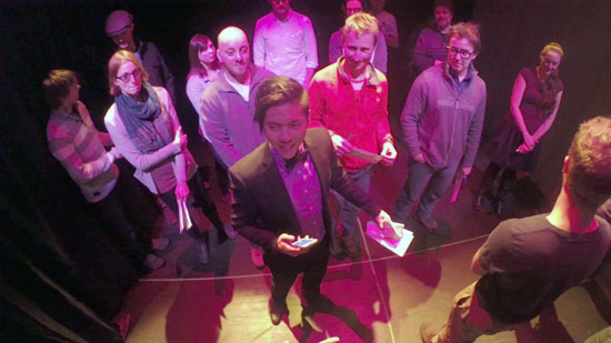 Theatre Conspiracy presents Foreign Radical: a game of secrets