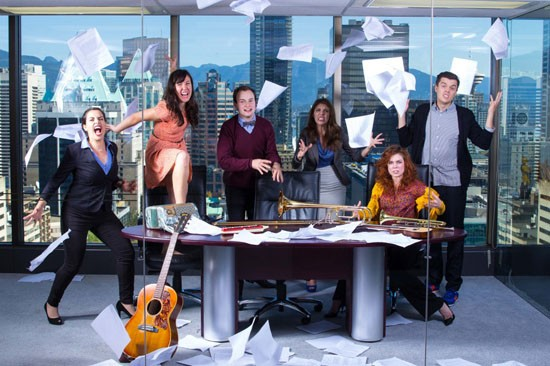 Stationary: A Recession-Era Musical Photo: Beatty Oei