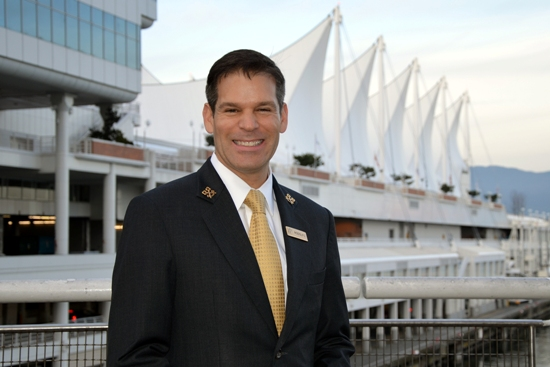 Rodolfo Parra, Concierge at the Fairmont Waterfront Hotel, Vancouver