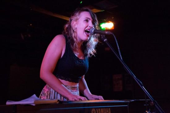 Sarah Jickling at the Biltmore Cabaret, Vancouver