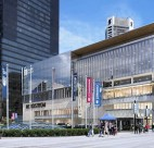 A rendering of the new Nordstrom store in Vancouver